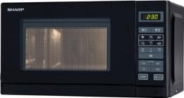 Sharp Electronics R242BKW Mikrowellengerät - 1