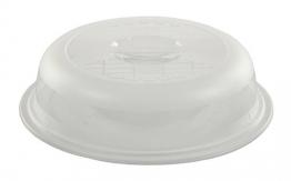 Rotho 1711390000 Mikrowellenabdeckhaube Basic- aus Kunststoff (PP) - Durchmesser 26.5 cm - transparent - 1