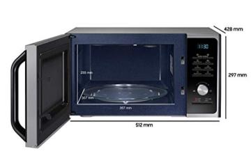 Samsung MWF300G MS2BF303TAS/EG Mikrowelle / 1000 W / 28 L Garraum (Extra groß) / 51,2 cm Breite / Power Defrost / 26 Automatikprogramme / silber / E-Commerce Verpackung - 2