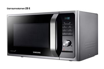 Samsung MWF300G MS2BF303TAS/EG Mikrowelle / 1000 W / 28 L Garraum (Extra groß) / 51,2 cm Breite / Power Defrost / 26 Automatikprogramme / silber / E-Commerce Verpackung - 3