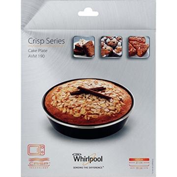 Whirlpool AVM190 - Mikrowellenzubehör/ Crisp-Backform klein (Ø19cm)/ Passend auch für Mikrowellen von Bauknecht - 2